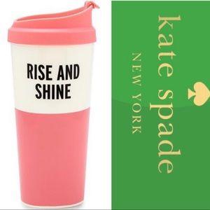 Kate Spade | Rise & Shine thermal mug | Pink Cream